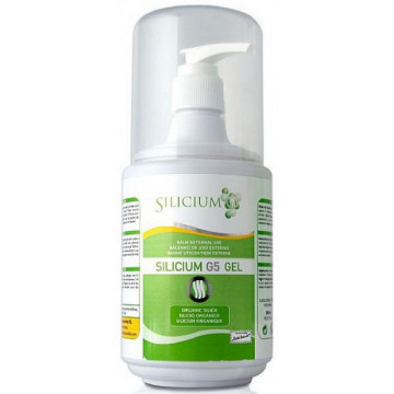 Silicium organique G5 muscles articulations gel Pot doseur 500ml - Silicium Espana