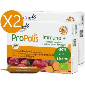 Lot duo Immuno Plus 2 x 20 ampoules le 2ème à 50pc - Ladrôme