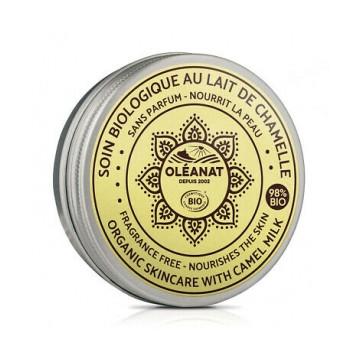 Baume Visage et Corps au Lait de Chamelle sans parfum - Oléanat