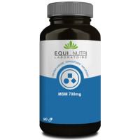 MSM Plus 700mg 90 gélules végétales - Equi Nutri methyl sulfone methane soufre organique Aromatic provence