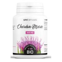 Chardon Marie Bio 300mg 200 gélules GPH Diffusion protection du foie Aromatic provence