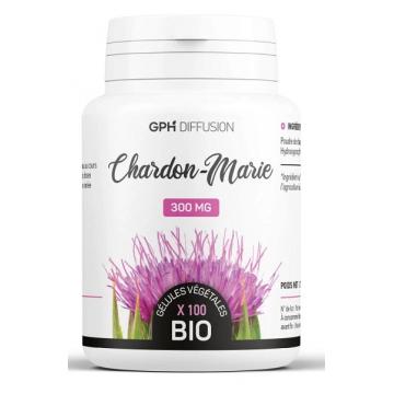 Chardon Marie Bio 200 gélules de 300mg - GPH Diffusion