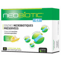 Neobiotic CI 20 Sticks - Santé Verte flore intestinale colon irritable probiotiques Aromatic provence