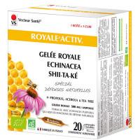 Royale Activ 20 ampoules de 10ml - Vecteur Santé gelée royale échinacée shiitaké Aromatic provence
