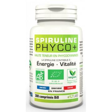 Spiruline Bio PHYCO PLUS 300 comprimés - LT Labo