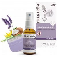 Spray Anti Poux 30ml avec peigne Aromapoux - Pranarôm huiles essentielles Aromatic provence