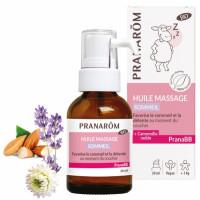 Huile de massage Sommeil bio PRANABB 30 ml - Pranarôm nervosité de bébé Aromatic Provence