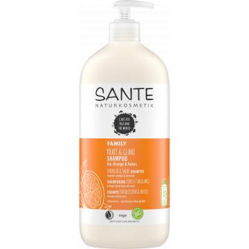 Shampoing Force et Brillance Orange Coco 950ml - Santé