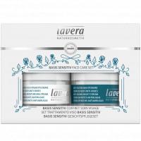 Coffret Soin du visage BASIS SENSITIV Jour et Nuit - Lavera coenzyme Q10 masque Aromatic provence