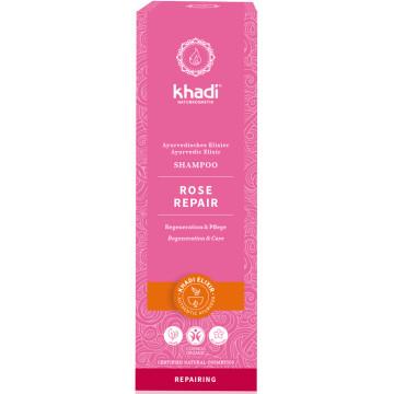 Shampooing ayurvédique Rose repair 200ml Khadi