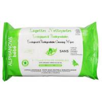 60 Lingettes nettoyantes à l'huile d'olive vierge bio - Alphanova écologiques biodégradables Aromatic provence