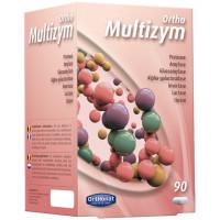 Multizym Enzymes digestives 90 gélules - Orthonat Nutrition lipases protéases amylases Aromatic provence