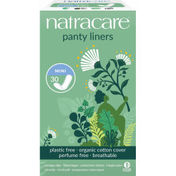 30 Protèges slip naturels aérés - Natracare