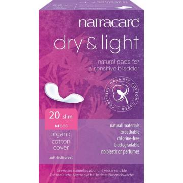 20 Serviettes incontinence légère - Natracare