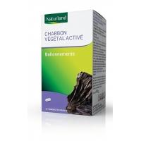 Charbon Végétal activé 150 gélules végétales - Naturland ballonnements digestion difficile Aromatic provence