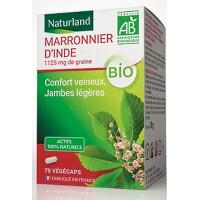 Marronnier d'Inde bio 75 Végécaps - Naturland protection vasculaire circulatoire Aromatic provence