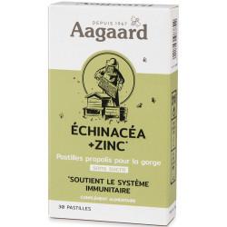 Pastille Propolentum Echinacea zinc 30 pastilles - Aagaard