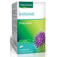 Bardane 75 gélules vegecaps - Naturland plante d'herboristerie pour la peau pureté et dépuratif Aromatic Provence