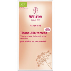 Tisane allaitement bio 20 sachets - Weleda