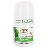 Déodorant à billes Aloe Vera 24H peaux normales 50ml - Douce Nature déodorant roll on bio Aromatic provence