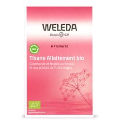 Tisane allaitement bio Fruits rouges 20 sachets - Weleda