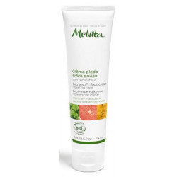 Crème extra-douce pieds 150ml - Melvita