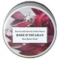 Beurre exfoliant Rose d'Ispahan 250gr - Tadé sel de la mer morte exfoliant Aromatic provence