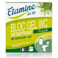 Bloc Gel WC détartrant 50ml  - Etamine du Lys,   Nettoyage sols et surfaces,  Entretien bio de la Maison