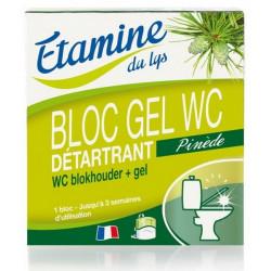Bloc Gel WC détartrant senteurs Pinède 50ml - Etamine du Lys