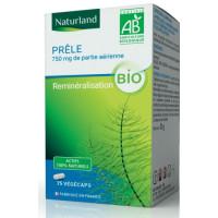 Prele 75 gélules végétales de 250mg - Naturland silicium Organique Aromatic Provence