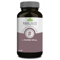 L-Taurine 500mg 60 gélules - Equi-Nutri Aromatic Provence