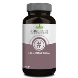 L-Glutamine 500mg 60 gélules - Equi-Nutri