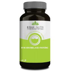 Bromelase et Papaïne 60 gélules - Equi Nutri