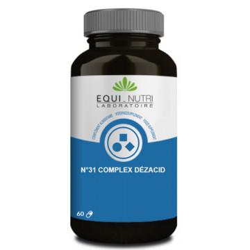 Dezacid No 31 - 60 gélules Equi-Nutri