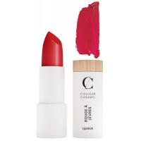 Rouge à lèvres Naturel Mat n°122 Rouge Groseille 3.5g - Couleur Caramel - Aromatic Provence maquillage minéral