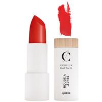 Rouge à lèvres Naturel Mat n°125 Rouge Feu 3.5g - Couleur Caramel - Aromatic Provence maquillage minéral