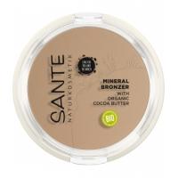 2 en 1 Contouring et Poudre bronzante N°1 Light Medium 9gr - Sante Naturkosmetik Aromatic provence