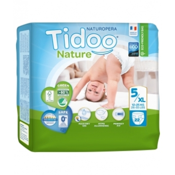 22 Couches Single Pack (T5/XL) 12/25kg  - Tidoo