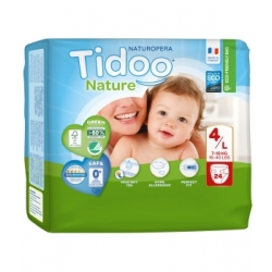 24 Couches Single Pack (T4/L) 7/18kg - Tidoo