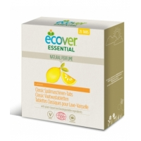 25 Tablettes Lave Vaisselle parfum citron x25 - Ecover Aromatic provence