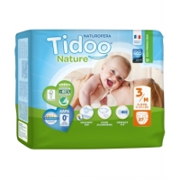 27 Couches Eco Single Pack (T3/M) 4/9kg x27 - Tidoo Aromatic provence