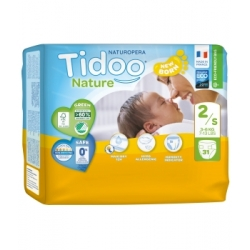 31 Couches Single Pack (T2/S) 3/6kg - Tidoo