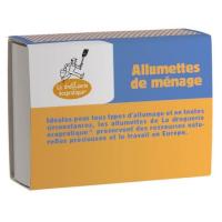 4 boîtes 100 allumettes FSC Mixte x4 - Droguerie Ecologique Aromatic provence
