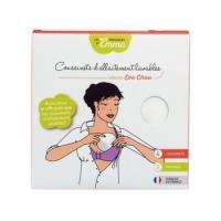 4 coussinets d'allaitement lavables x4 - Les Tendances d'Emma Aromatic provence