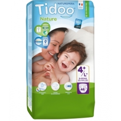 48 Couches Jumbo Pack (T4+/L+) 9/20kg - Tidoo