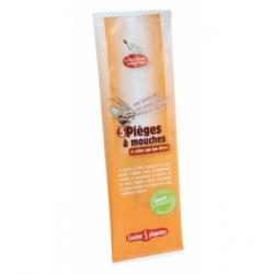 5 pièges à mouches avec attractif 3g - Droguerie Ecologique