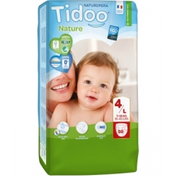 50 Couches Jumbo Pack (T4/L) 7/18kg - Tidoo