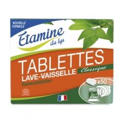 50 Tablettes lave vaisselle 1kg - Etamine du Lys