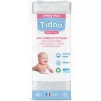 80 Maxi Carrés de Coton Bio TidooCare x80 - Tidoo Aromatic provence