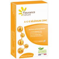 A C E sélénium zinc 30 comprimés - Fleurance Nature Aromatic provence